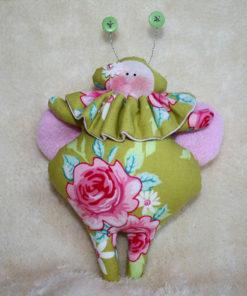 Käfer kiwi pink Dekoration Piron-Art