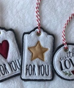 Weihnachten Geschenanhänger