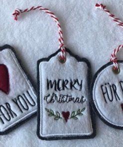 Weihnachten Geschenkanhänger